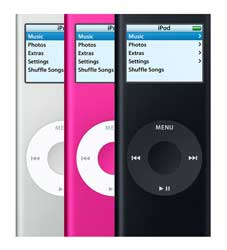 Apple iPod nano 4 Gb pink