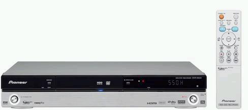 Pioneer DVR-550H-S