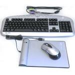 Комплект (клавиатура, мышь) A4-Tech Battery-Free Desktop KBS-2850 RP PS/2/USB