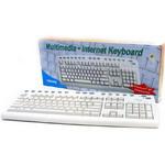 Клавиатура CHICONY KB-9885 White PS/2