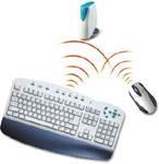Комплект (клавиатура, мышь) BTC 9001A RF