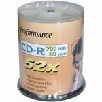 CD-R 700Mb 52x 100 шт. на шпинделе