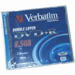 DVD+R Verbatim 8.5Gb 2.4x Double Layer