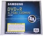 DVD+R Samsung 4.7Gb 4x
