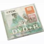 DVD+R TDK 4.7Gb 8x