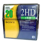 3,5 1,44 Mb SONY in PB 20 шт