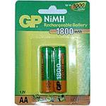 Аккумулятор GP 180AAHC-U2 (NiMh, 1800 mAh, AA)