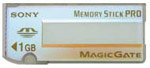 SONY MSX-1G MagicGate