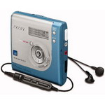 SONY Hi-MD Walkman MZ-NH700 Blue
