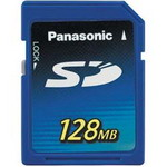 Panasonic SD 128Mb