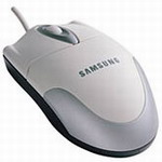 SAMSUNG Optical Wheel Mouse SMOP-5000-WX PS/2