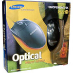 SAMSUNG Optical Wheel Mouse SMOP-5000-WX-BK Black PS/2