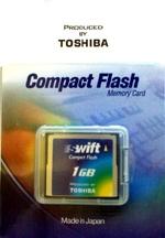 Toshiba CompactFlash SWIFT 1 Gb