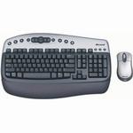 Комплект (клавиатура, мышь) Microsoft Wireless Optical Desktop 2.0a USB/PS/2