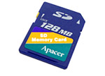 Apacer SD Card 128 Mb