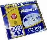 CD-RW Memorex 700Mb 4x