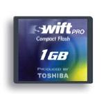 Toshiba CompactFlash SWIFT PRO 1 Gb HighSpeed (45x)