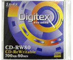 CD-RW Digitex 700Mb 4x