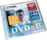 DVD-R TDK 4.7Gb 4x