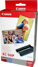 Комплект (бумага и картридж) Canon KC-36IP Color Ink / Paper Set