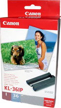 Комплект (бумага и картридж) Canon KL-36IP Color Ink / Paper Set