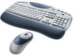 Комплект (клавиатура, мышь) Logitech Cordless Desktop iTouch