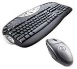 Комплект (клавиатура, мышь) Logitech Cordless Desktop Optical PS/2