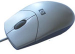 HP Mouse N3+ Optical Arctic Silver PS/2