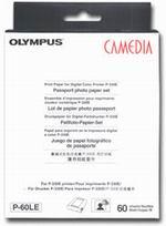 Комплект (бумага и картридж) OLYMPUS CAMEDIA Passport Photo P-60LE