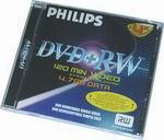 DVD+RW Philips 4.7Gb 4x