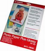 Canon A4 Photo Paper Plus Glossy PP-101