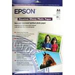 EPSON S041287 A4 Premium Glossy Photo Paper
