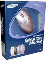 SAMSUNG Optical Color Mouse SOM3200-Pink PS/2