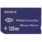 Sony Memory Stick DUO 128Mb