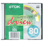 CD-R TDK 700Mb 48x