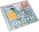 DVD+R TDK 4.7Gb 4x