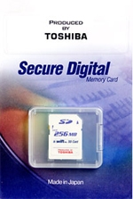 Toshiba SD SWIFT PRO 256 Mb HighSpeed