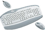 Комплект (клавиатура, мышь) Defender WUR0108-White
