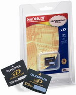 SanDisk xD Picture Card 256 Mb