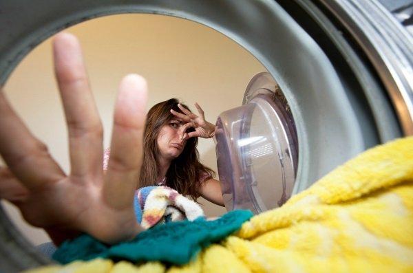 Плохой запах в стиральной машине