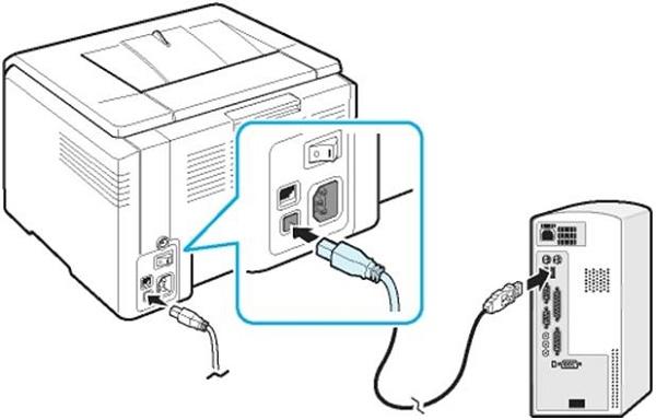 Подсоединение кабеля