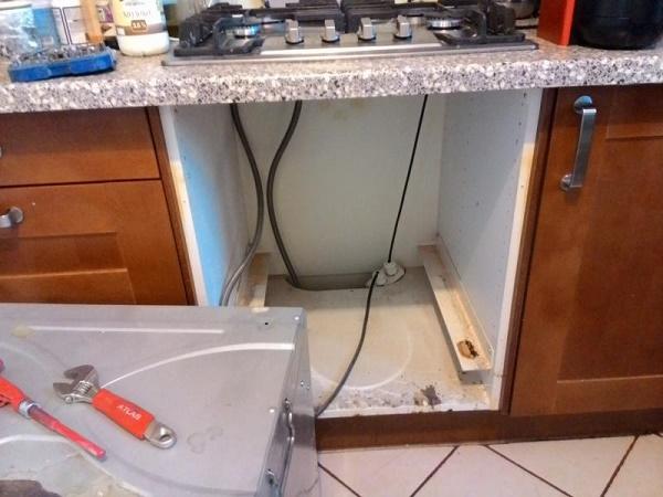 Подключение газового шкафа