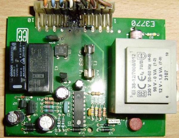Блок электронного управления