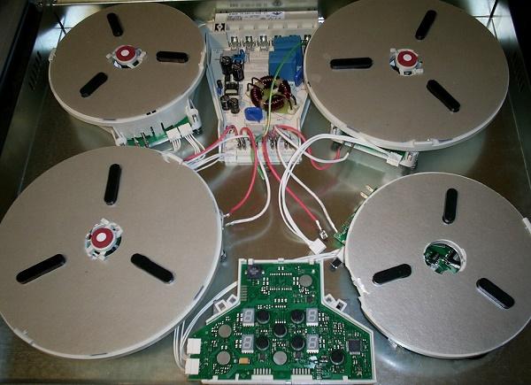 Конструкция индукционной плиты