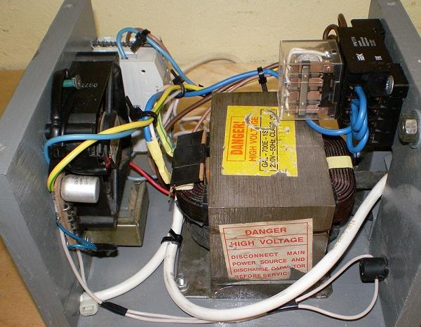 Трансформатор в микроволновке