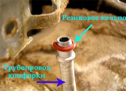 Трубопровод конфорки