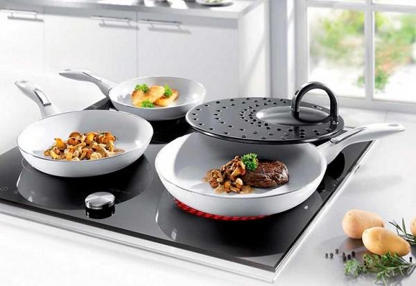 Керамические сковороды