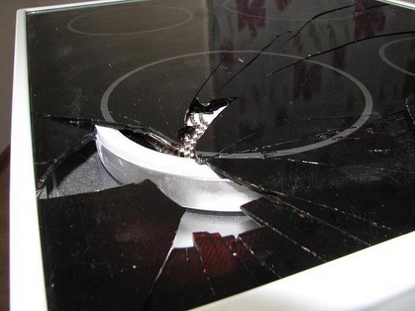 Разбитая плита