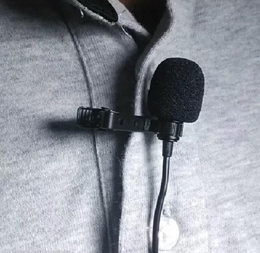 Микрофон на одежде