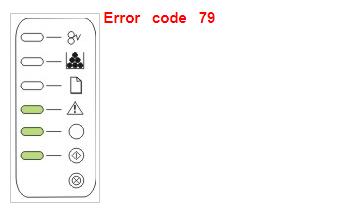 Ошибка 79